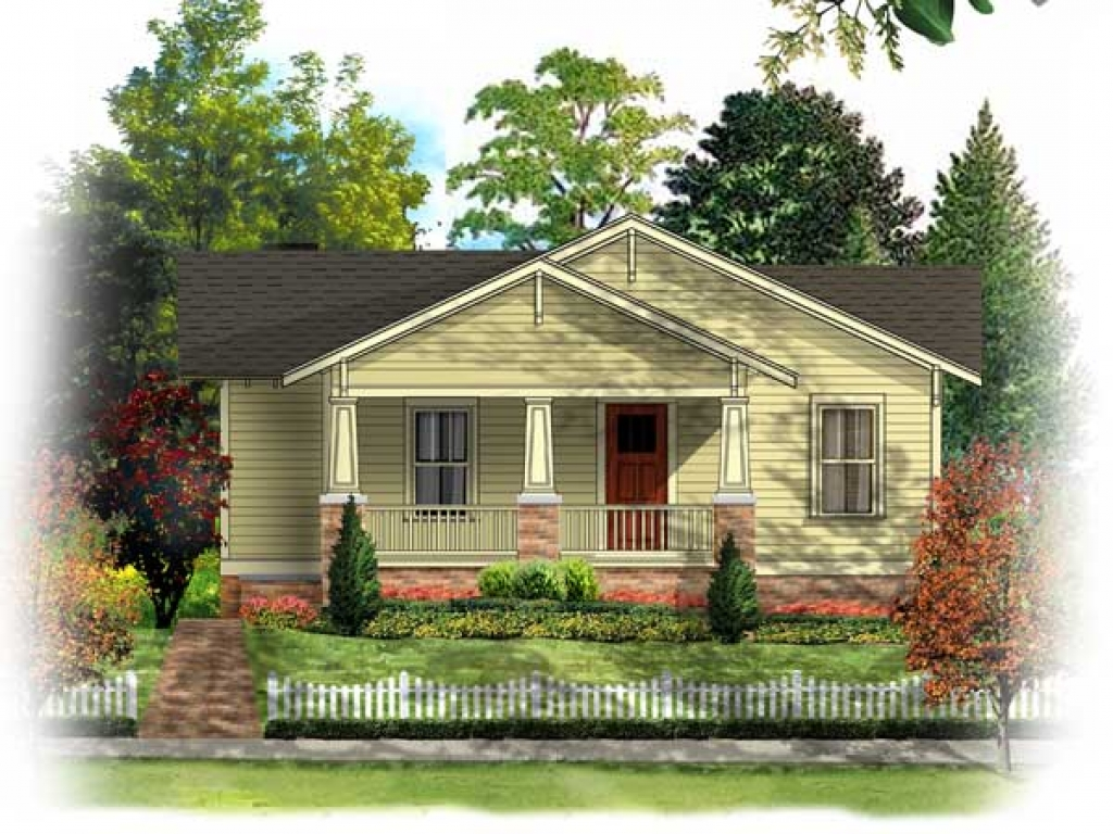 Vintage bungalow house plans historic bungalow house plan for Old bungalow house plans