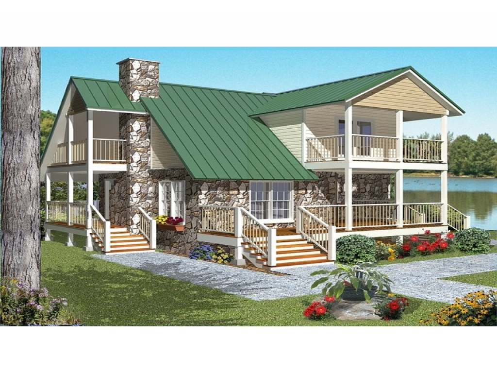 Cabin style house plans craftsman style house floor plans for Lodge style home plans