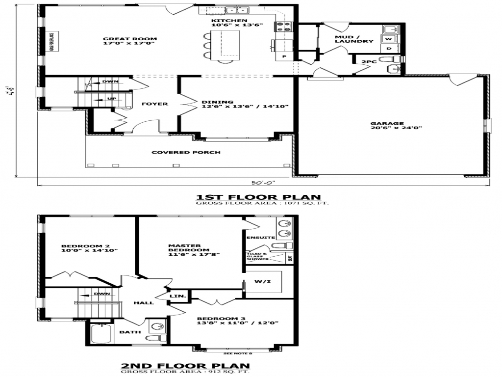 Colonial two story house plans two storey house plans for Two story house plans canada