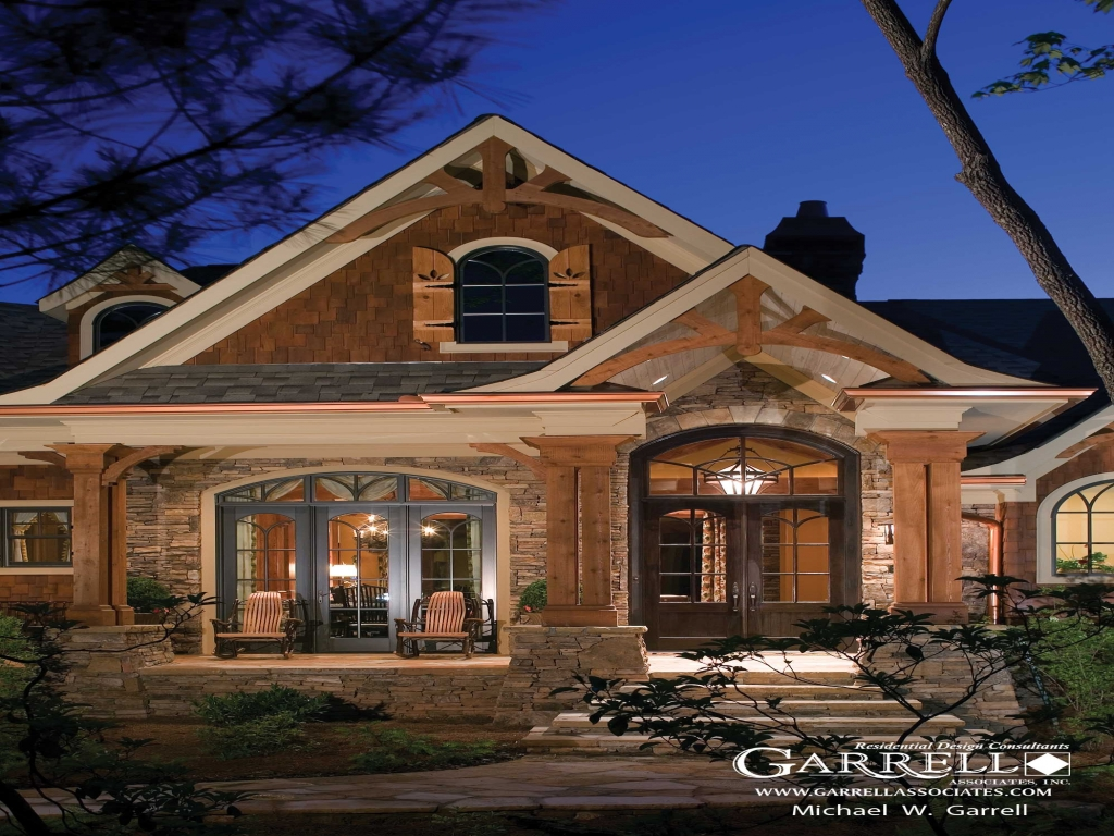Cottage Style House Plans With Front Porch Stone Cottage