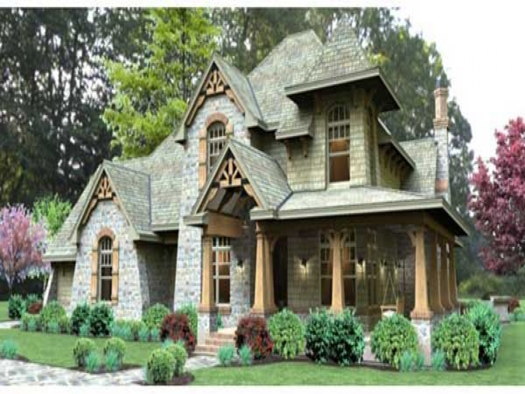 Craftsman house plans small cottage craftsman style house for Mission style house plans