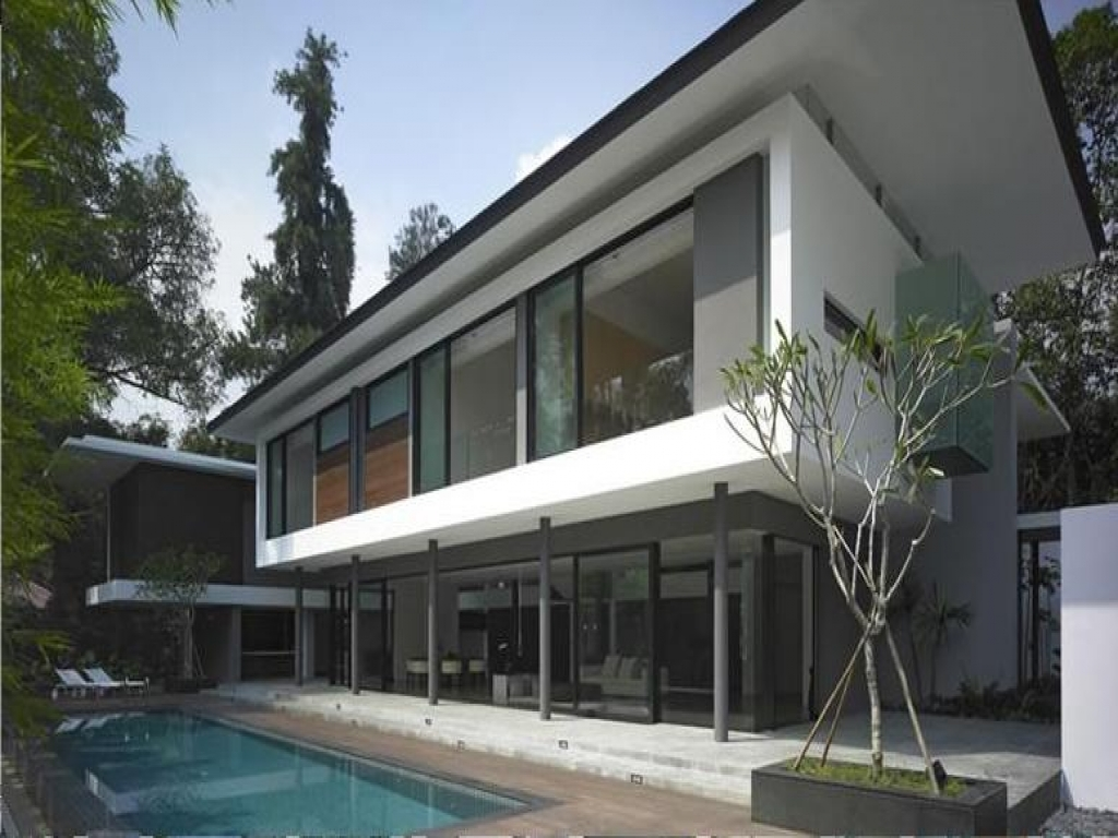 Flat Roof Design Ideas: Flat Roof Modern House Designs Flat Roof Homes With