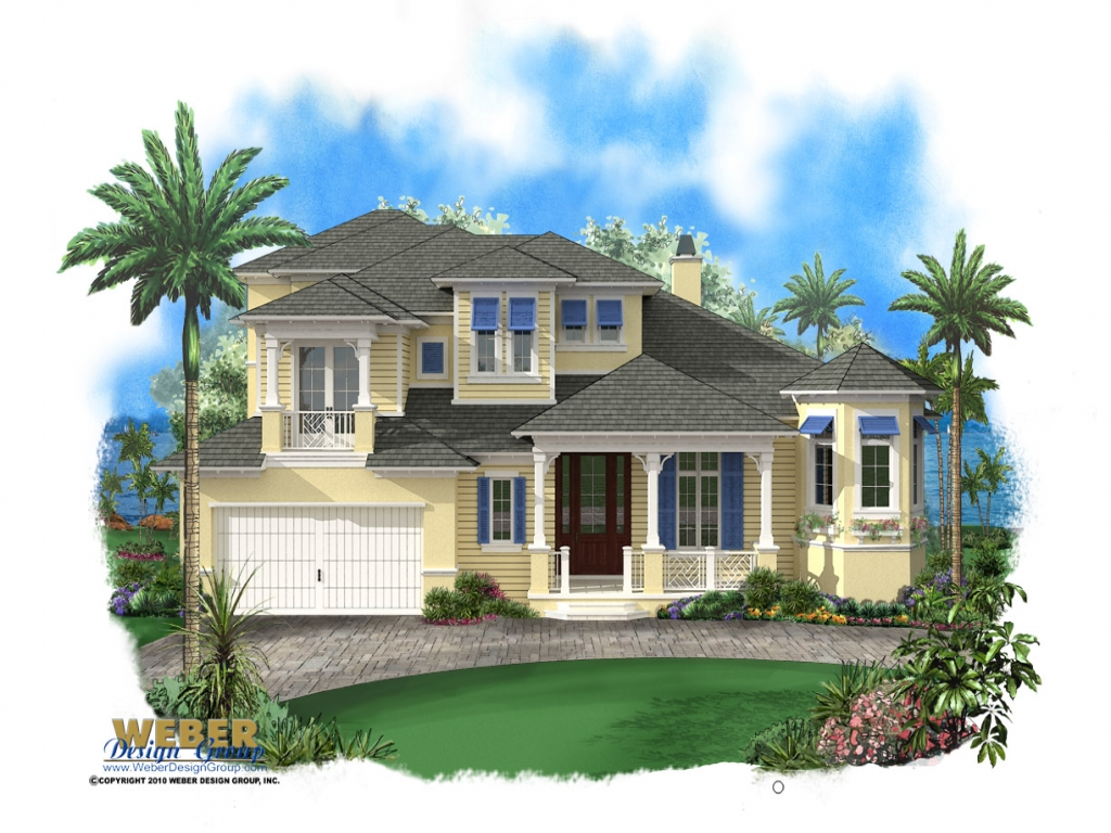 Key west style homes with metal roofs key west style homes for Caribbean style house plans