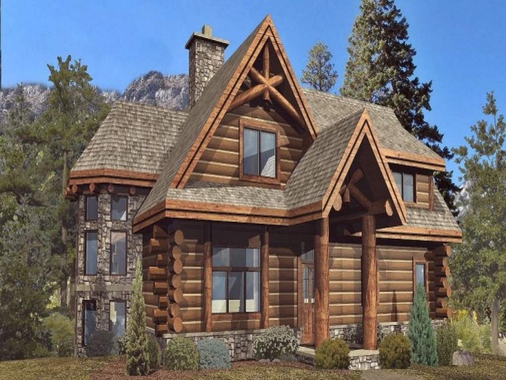 Log cabin homes floor plans rustic log cabin wood floors for Large log cabin homes