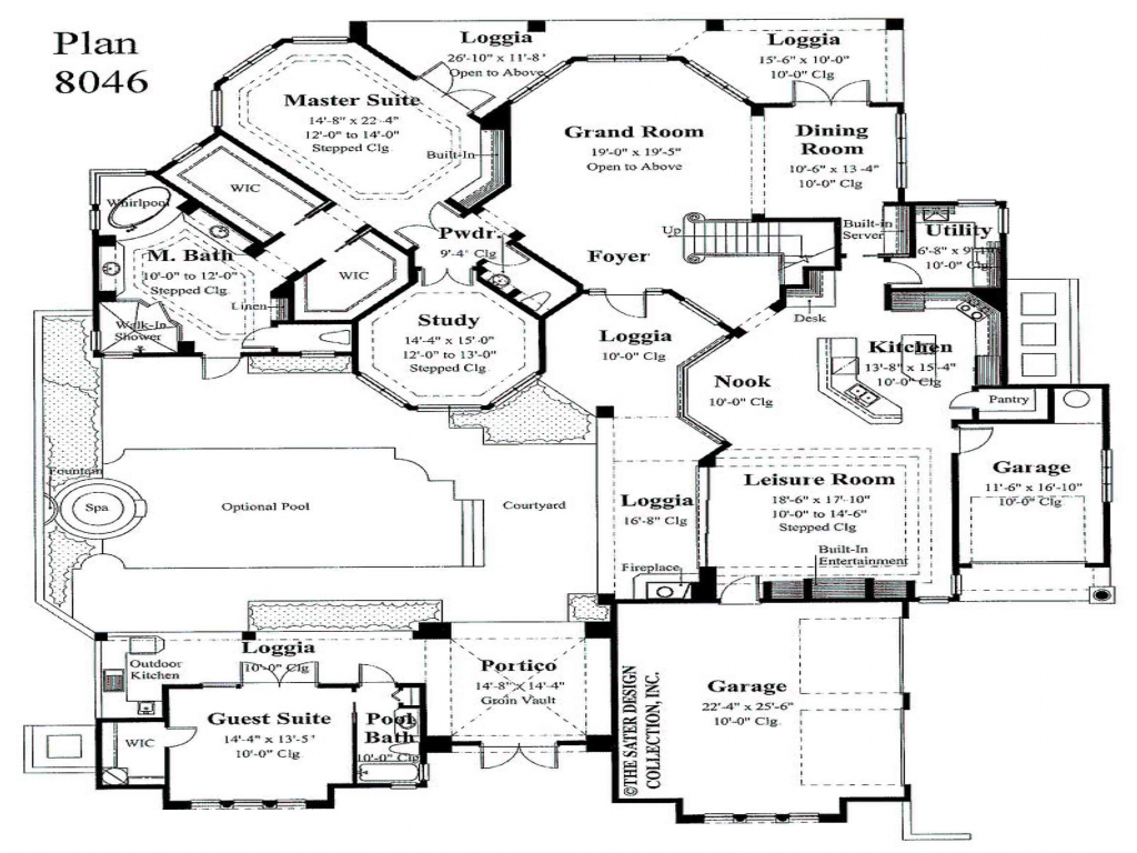Master bedroom first floor house plans small master for First floor master bedroom floor plans