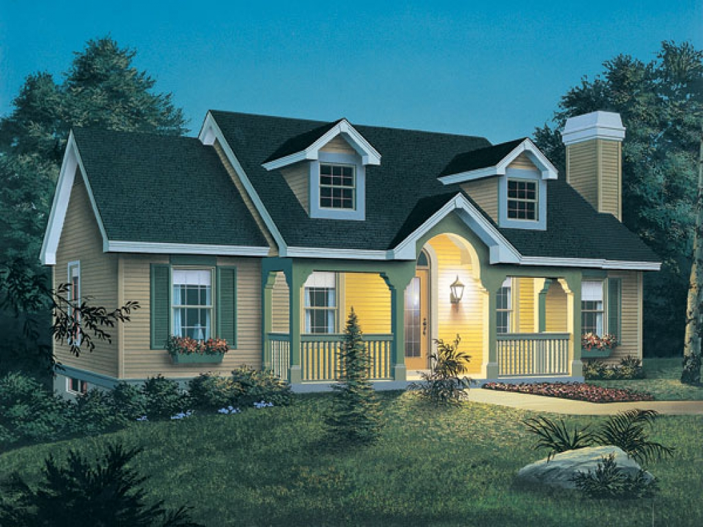 New England Cottage Plans New England Style Cottage House