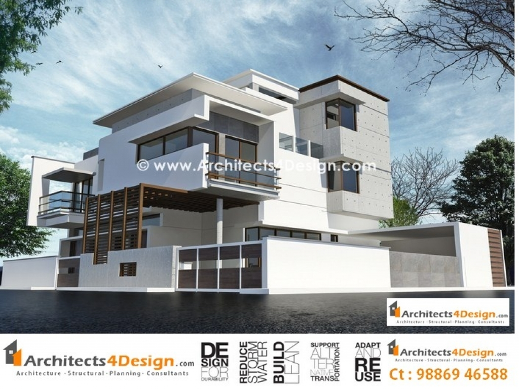 Residential Elevation Plan : Residential house elevation plans drawings