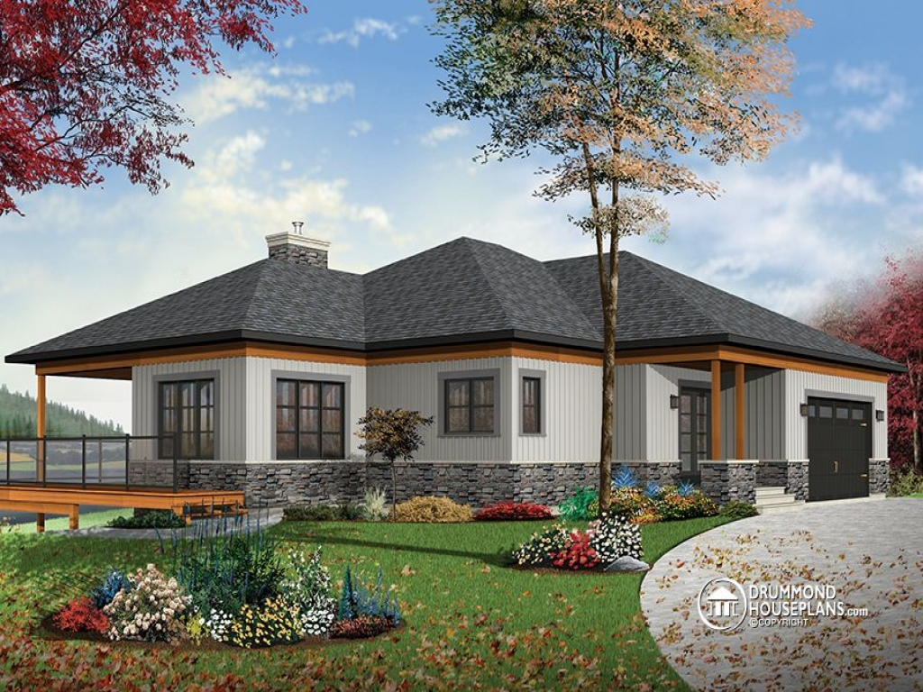 Small two bedroom house plans contemporary cottage house for 2 bedroom cottage