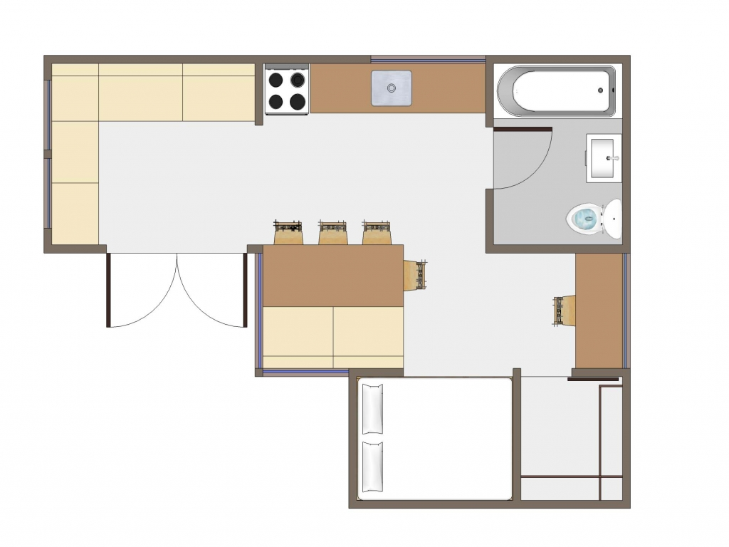 Tiny house floor plans tiny houses pictures inside and out for House floor plans with pictures