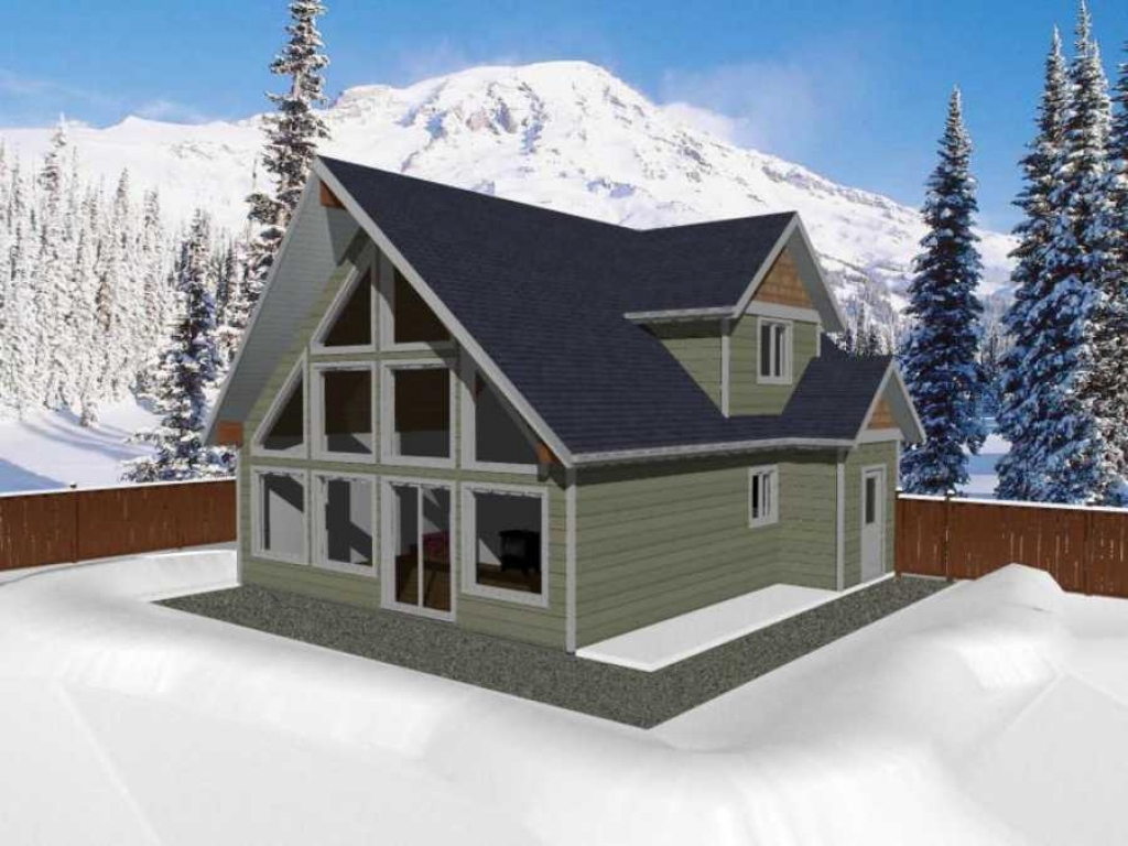 A Frame Cabin Floor Plans With Loft