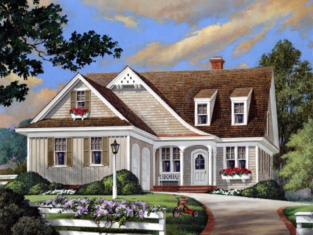 European country cottage house plans european cottage for Country bungalow house plans