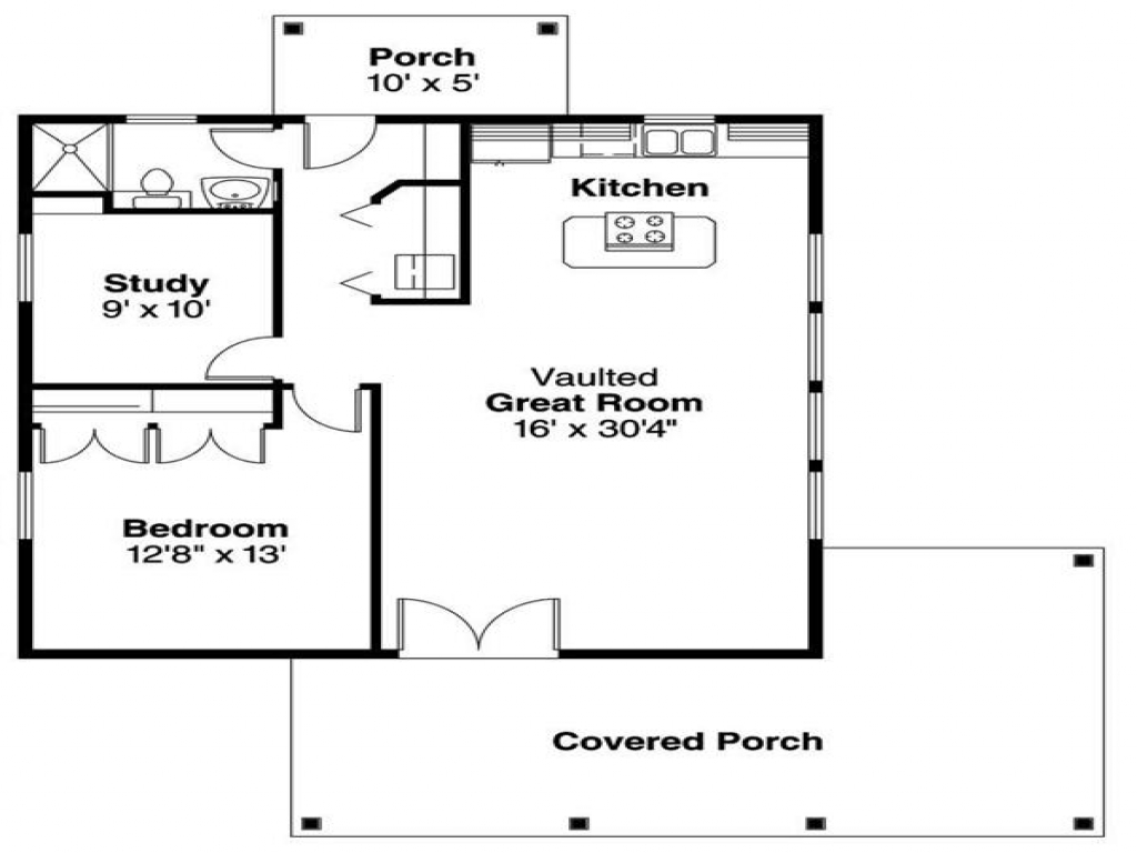 Guest Pool House Cabana Plans Cottage Guest House Floor