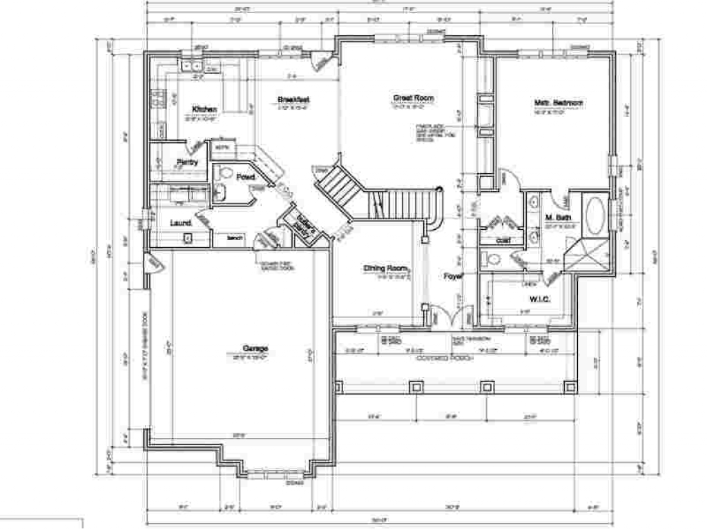 Rv Garage Dimensions : House floor plans with rv garage attached