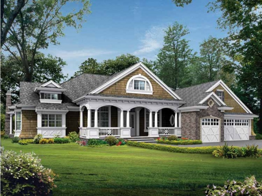 One story craftsman style house plans one story craftsman for Best ranch house plans 2016
