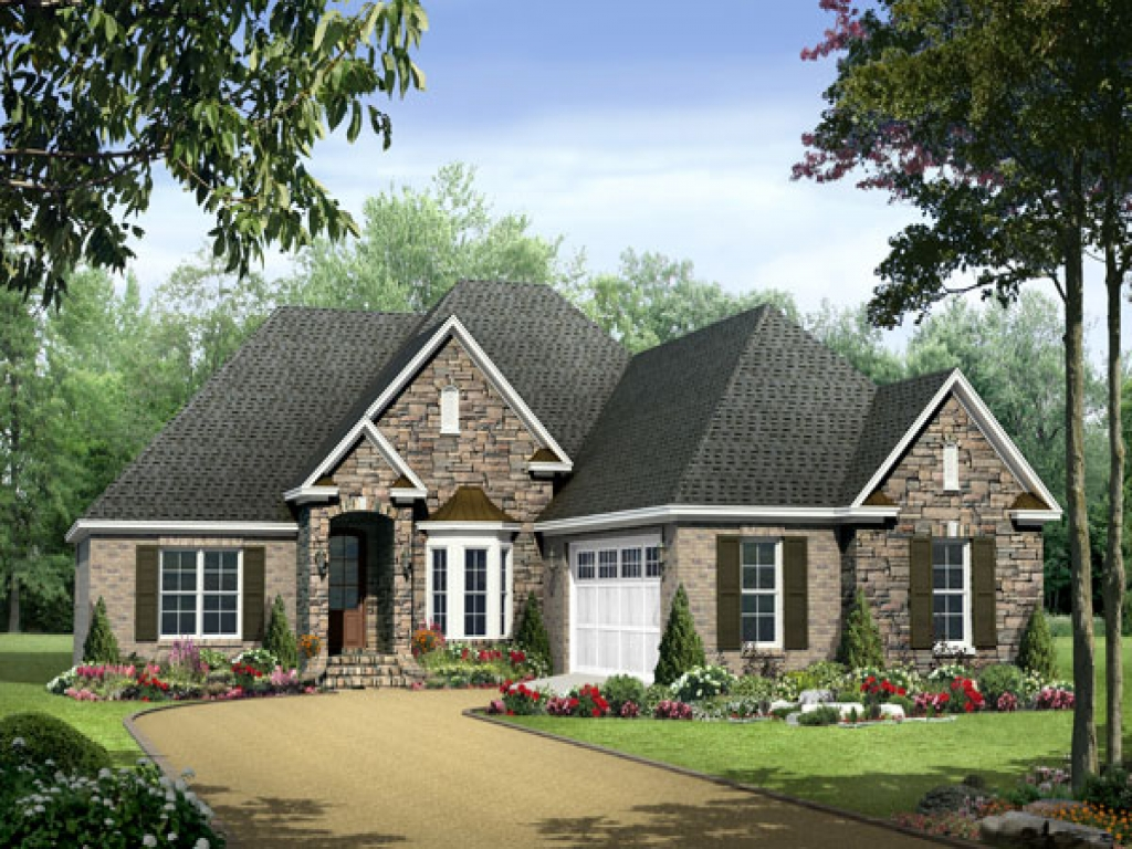 One story house plans one story house plans with wrap for Home designs with wrap around porches