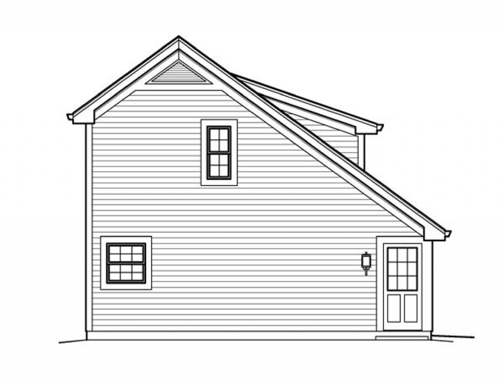 Saltbox garage plans with loft country saltbox garage Saltbox cabin plans