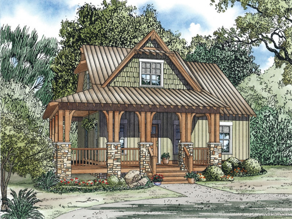 Small country home house plans small cottages unique for Craftsman small house plans