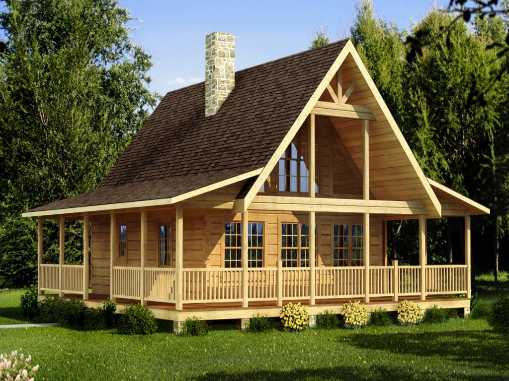 Small log cabin plans small log cabin home house plans for Small log cabin plans
