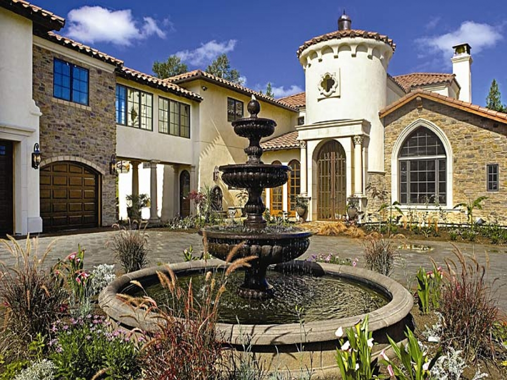 Small spanish style homes california mission style homes for Mission home