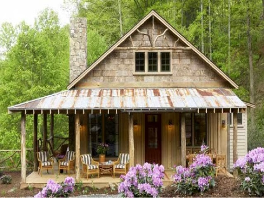 Southern living cabin house plans southern cabin plans for Country living magazine house plans