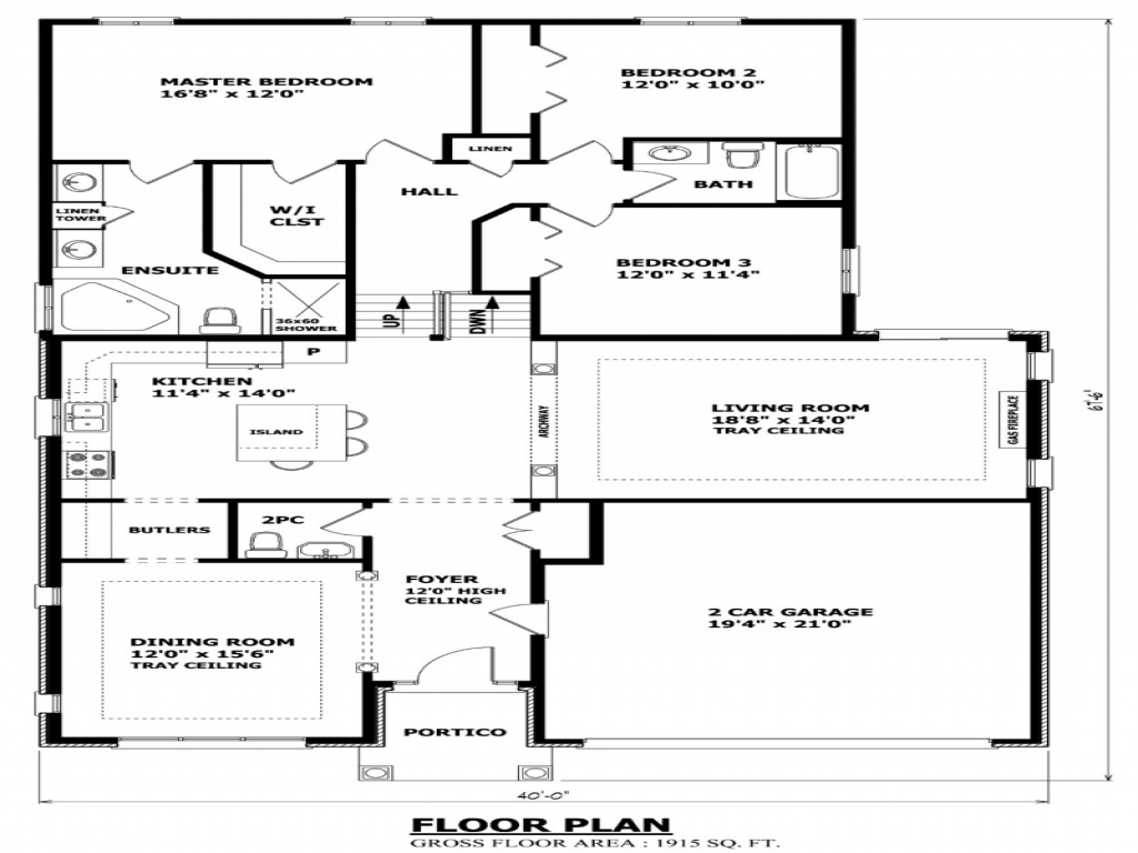 Tiny Home Designs: Split- Level Homes Before And After Front Back Split House