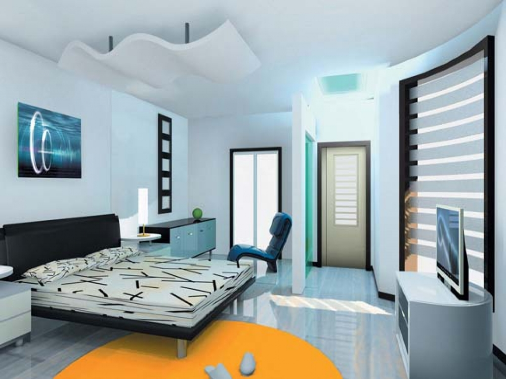 Bedroom interior design india romantic master bedroom for Houses with 2 master bedrooms