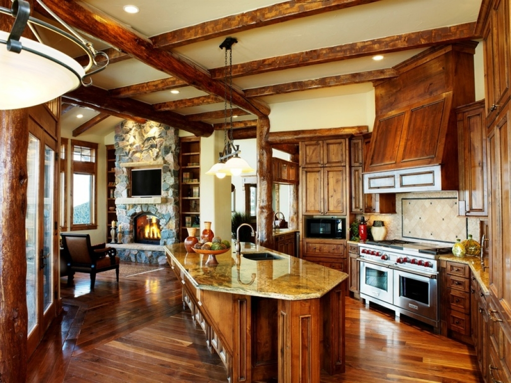 Kitchen Hearth Room Design Ideas Kitchen Hearth Room Log