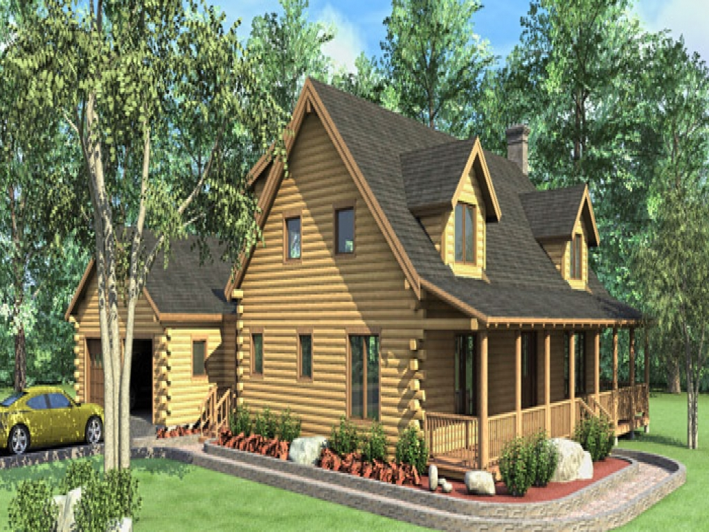 Log home floor plans log modular home plans 3 bedroom log for Two bedroom log homes