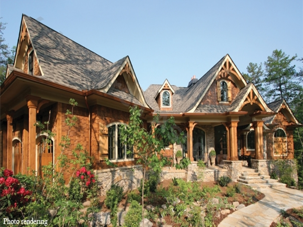 Mountain style house plans lodge style home plans lodge for Mountain lodge architecture