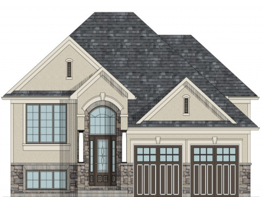 Raised bungalow canadian house plans raised bungalow house - Canadian home designs floor plans ...