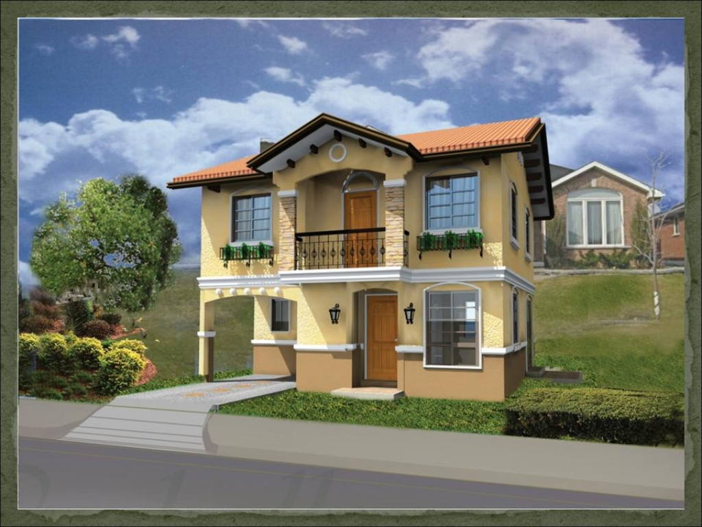 Design For Small House: Small House Design Philippines Small Modern House Designs