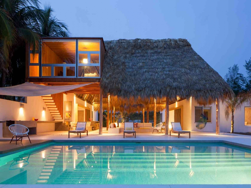 Award Winning Small Home Designs: Award-Winning Beach House Designs Tropical Beach House