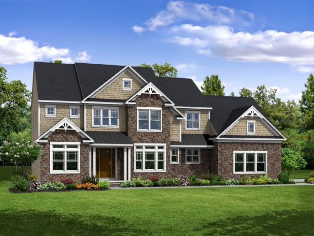 Craftsman style home builders craftsman style homes in for Custom ranch home builders maryland