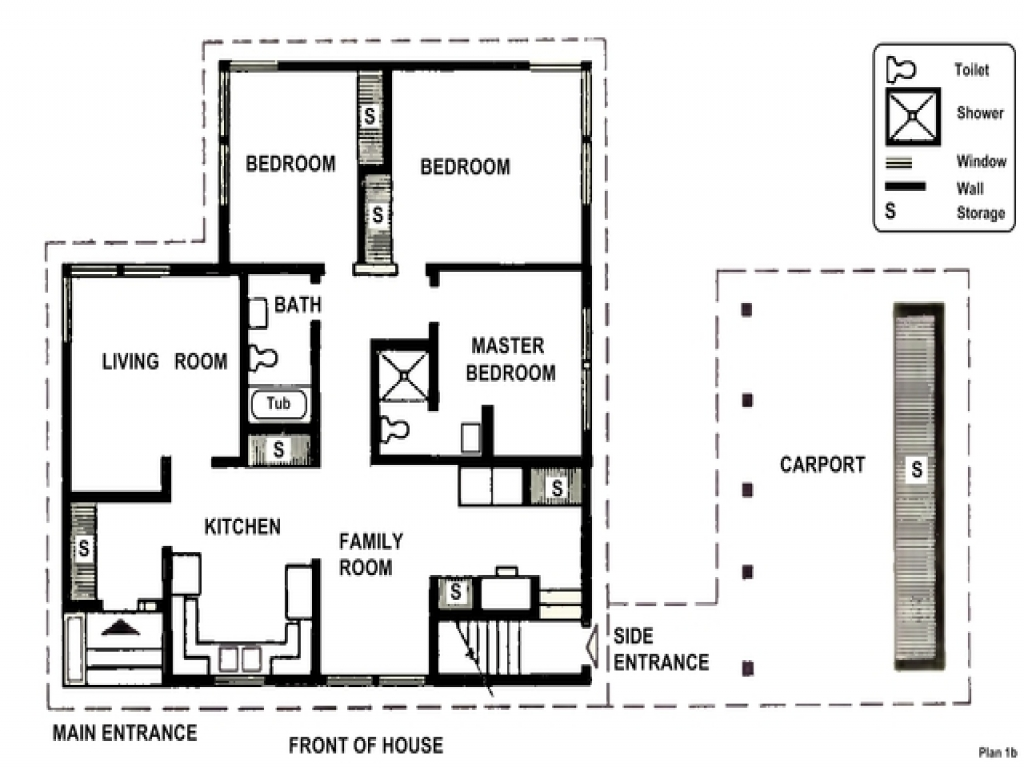 Simple two story house two bedrooms small two bedroom for Small 2 bedroom house plans