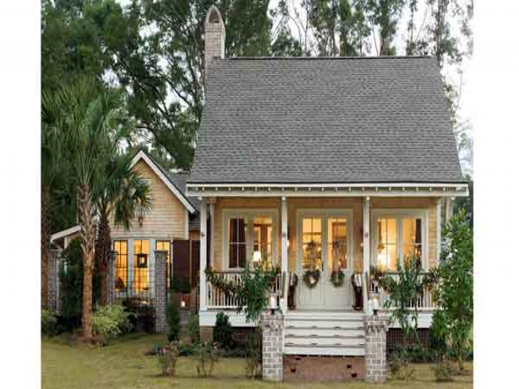 Southern house plans small cottage small cottage house for Bayou cottage house plan