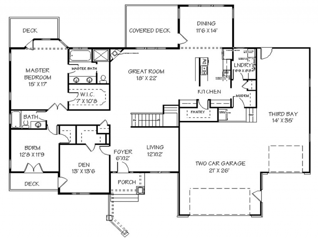 Ranch House Plan With Sports Court on basketball court, floor plans with sport court, house plans with racquetball court, house sketch, basement sports court, multi sport court, house floor plans, backyard sports court,