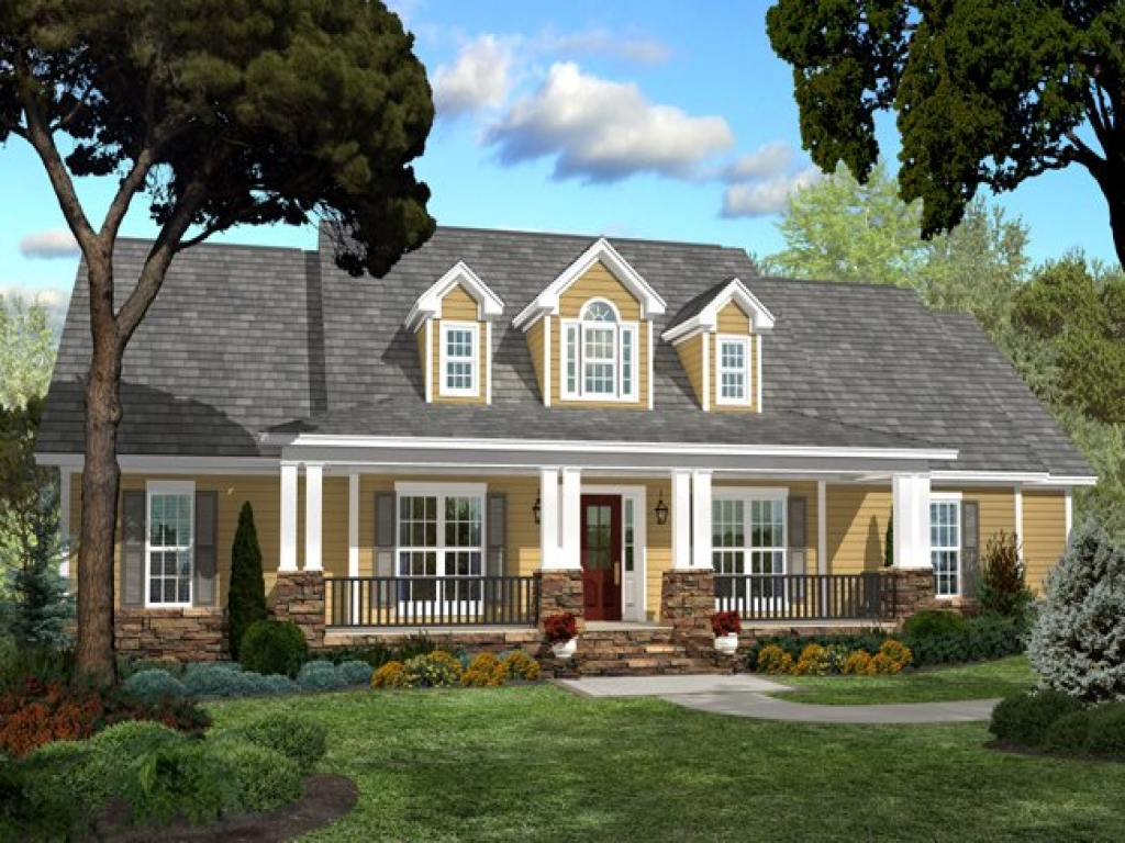 Tiny Home Designs: Country Southern House Plans Country Style House Plans