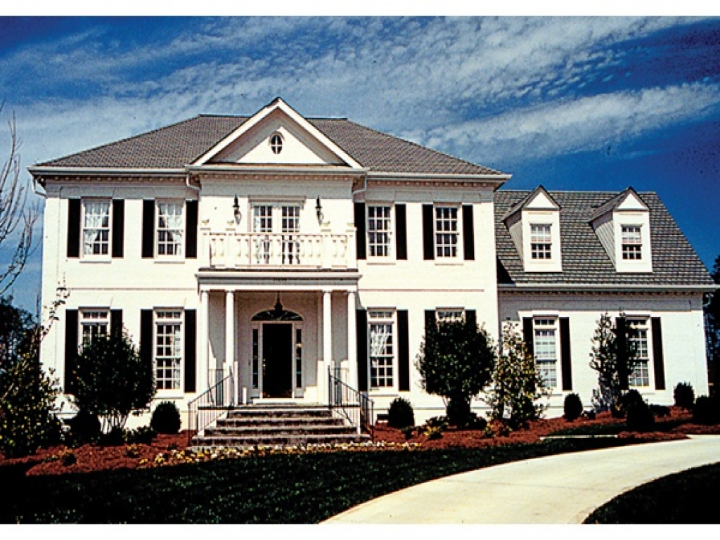 Small colonial house plans federal colonial house plans for Small colonial house plans