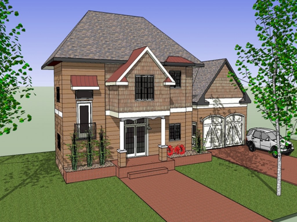 Small simple houses front view house designs front view for Small house design front view