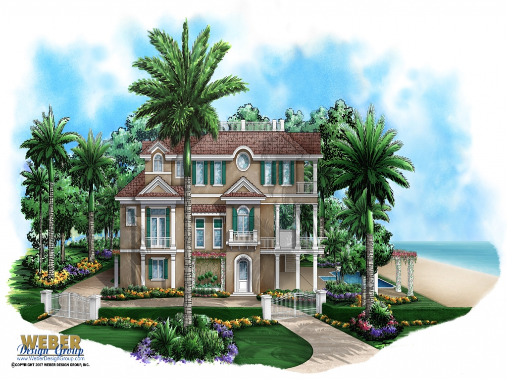 Beach House Plans For Homes On Pilings Small Beach House