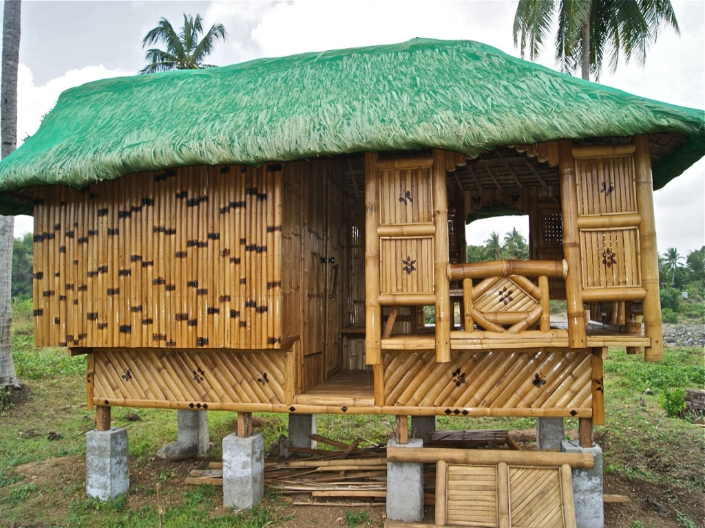 Philippine Nipa Hut Designs Bamboo Models In The