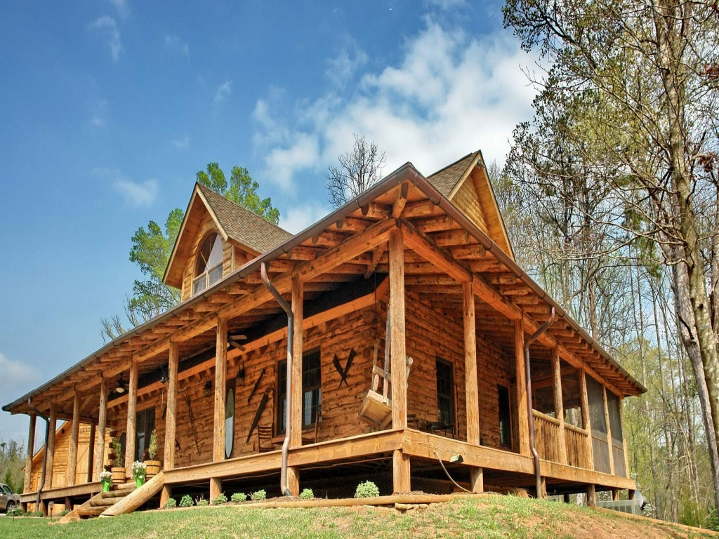 Rustic house plans with front porch rustic house plans for Rustic house plans with wrap around porch