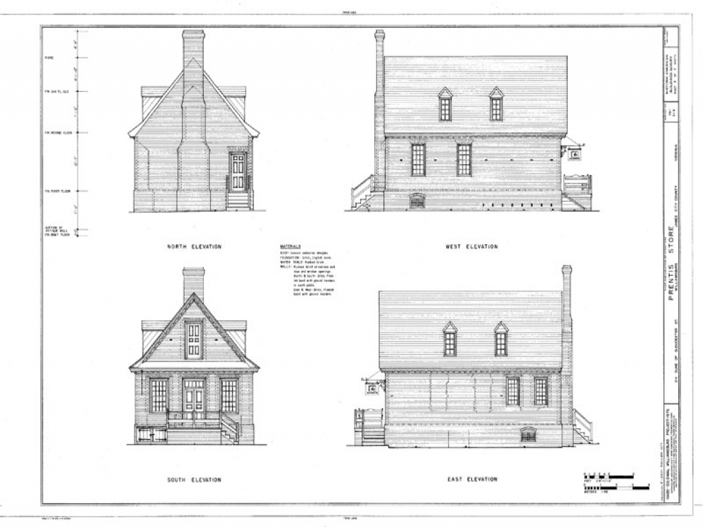 Small house plans colonial williamsburg historic colonial for Historic colonial house plans