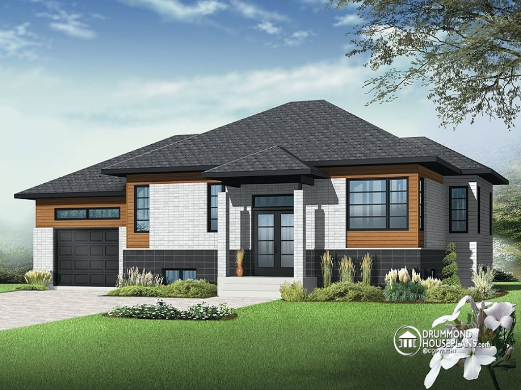 Contemporary bungalow house plans small house plans for New home plans canada
