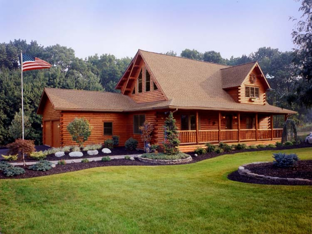 Rustic log cabin decor cedar log cabin homes log home for Log cabin builders in california