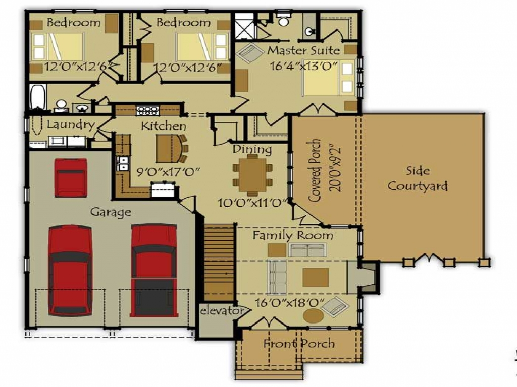 Small Cottage House Floor Plans Small Cottage House Plans