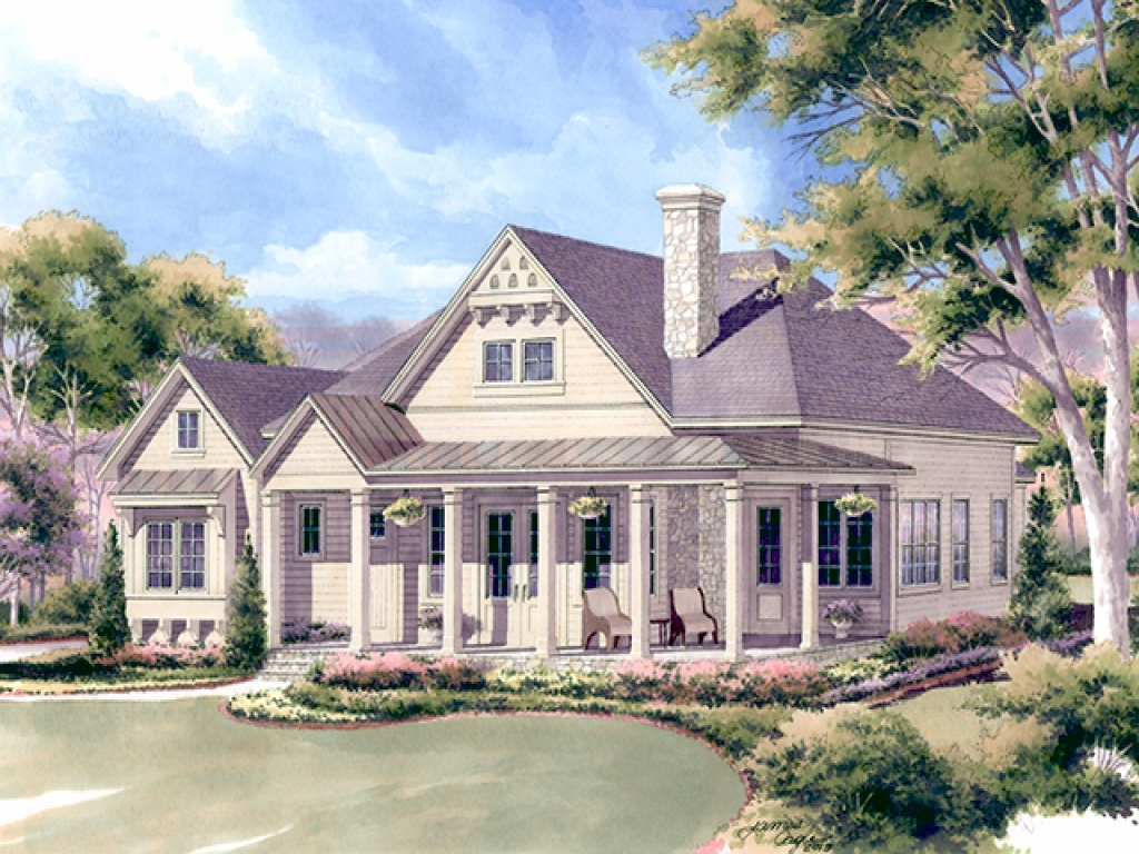 Small house plans southern living southern living cottage for House plans with guest houses southern living