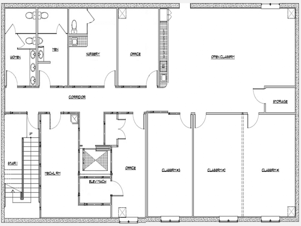 Basement Remodeling Floor Plans Basement Office Layout ...