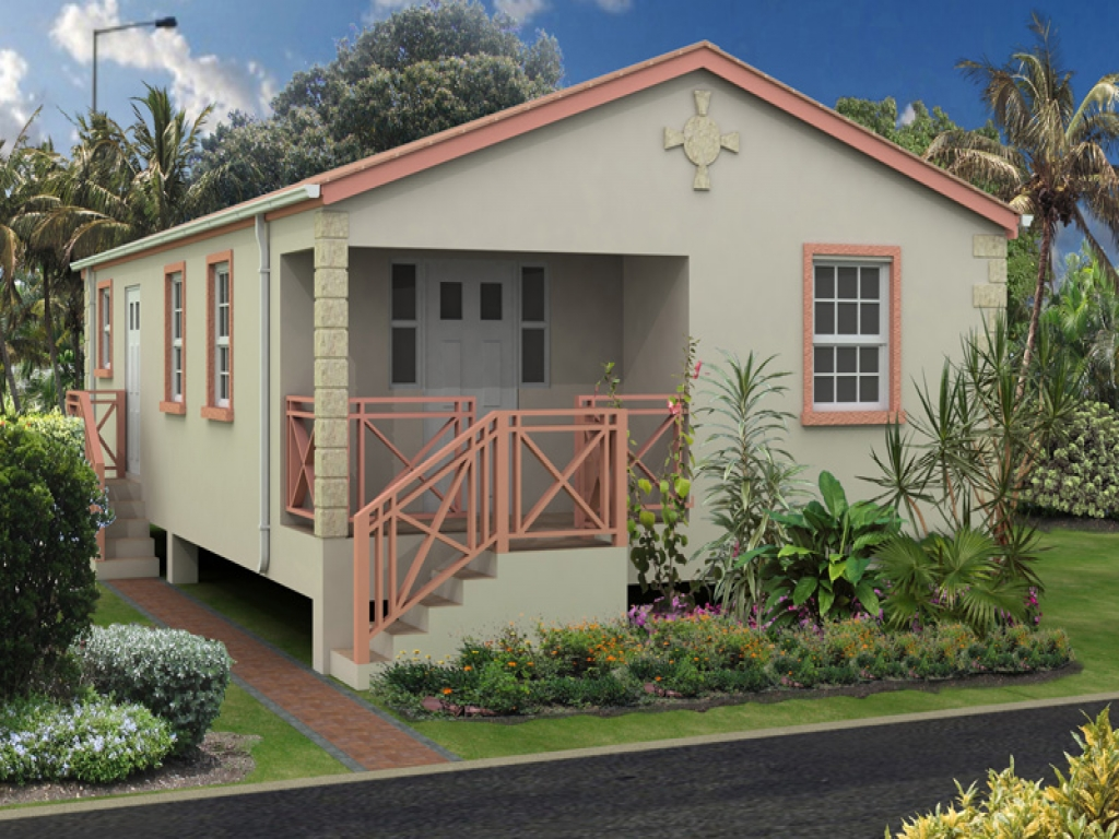 Caribbean homes house plans jamaica house plans and design for Jamaica house plans