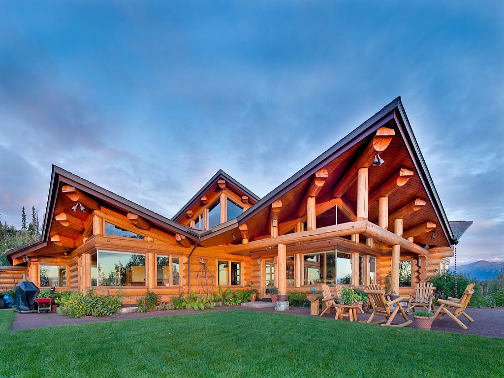Photos Of Anchorage Alaska Log Cabin Homes Craigslist